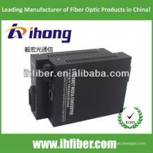 10 / 100M Fiber Optic Media Converter Multimode Dual Fiber SC Port 2km