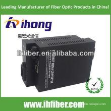 SC 10 / 100M Fibra Óptica Media Converter singlemode fibra dual 20km