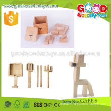 new style building blocks OEM wooden building blocks kids intelligent toys building blocks