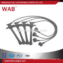 Car parts replacement auto ignition cable wire set spark plug wire assembly 90919-22319 for Toyota
