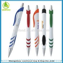 Regalo plástico promocional, pluma promocional barata, anuncio promoción de la pluma
