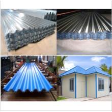 Feuille d'aluminium ondulé pour l'architecture, la toiture et l'ingénierie
