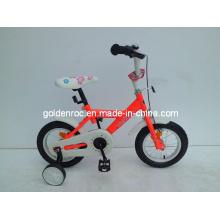 """Bicicleta de 12 """"con marco de acero para niños (1211B)"""