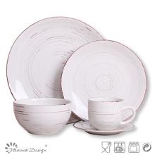 Juego de cena de cerámica de 20 piezas para 4 personas en el hogar