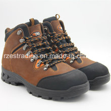 Lightweight Engineering Genuine Leather Working Safety Shoes