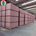 Flame retardant fireproof pink color MDF board