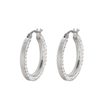 E-609 Xuping Jewelry 2018 Hot selling simple design fashion women's Hoop earrings