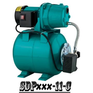 (SDP800-11-C) Jardin auto-amorçantes Jet pompe de surpression avec réservoir en acier