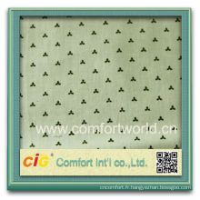 Nouveau design de mode assez imprimé tissu jacquard literie