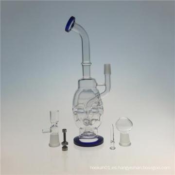 Mothership Feberge huevo Hookah tubos de vidrio de vidrio para fumar (ES-GB-410)