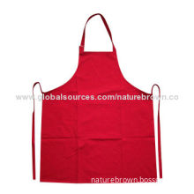 100% cotton cooking apron, various colors are available
