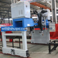 Gantry main sill efficient chassis welding machine for semi-trailer and H shaped steel