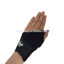 Muñeca de compresión ajustable apoya compresión crossfit muñeca brace