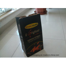 Wood Charcoal Kraft Paper Bag