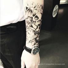 Fournitures de tatouage nouvelle arrivée bras de mode de conception de dos de dos de tatouage pour les hommes