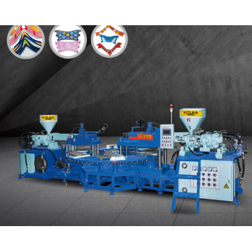 3 Color PVC Upper/Sole/Strip Moulding Machine