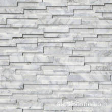 Gris Quarzite Honed 3D Wall Stone Panel