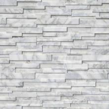 Panneau mural en pierre grise Quarzite 3D