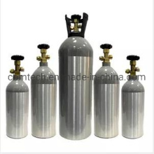 Refillable Food Aluminum CO2 Tank Cylinders for Beverage