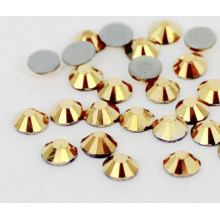 Aum Golden Hot Fix Rhinestones aaa