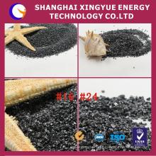 # 24,95% de carboneto de silício de balck granular