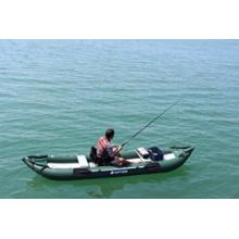 2014 grüner Ozean-aufblasbarer Fischen-Kajak, PVC-Kajak