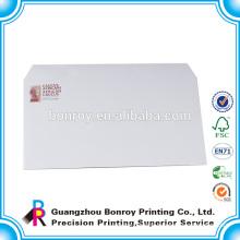 Product Company Logo Simple Postal Custom White Envelopes