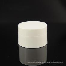 Tarro cosmético de los PP del color blanco (NJ14)