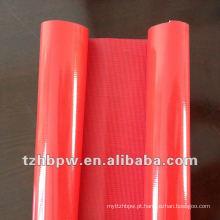 Tecido de PVC resistente ao calor tricotado e tecido
