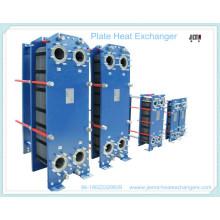 Trocador de calor de placas para esterilização de suco de bebidas