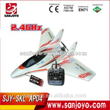 SKYFUN 7 CH RTF Brushless avião LI-PO rc