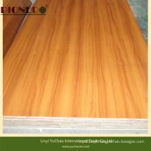 Falcata Core Blockboard com melamina de grão de madeira