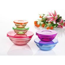 Ensemble de bol en verre pulvérisé couleur 5PCS GB1401-5 / P