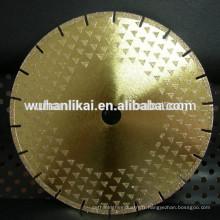 wuhan haute qualité électrique outils diamantés Nouvelle arrivée Custom Design abrasif disque coupe