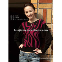 fashion women blended cashmere jumper