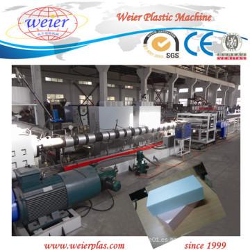 Máquina extrusora de plástico expandido de tablero de espuma XPS (XPS135 / 150 weier)