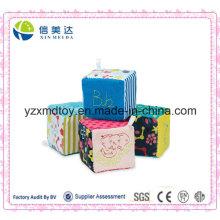 Adorable CE genehmigt Baumwolle & Plüsch Material Baby Würfel Spielzeug