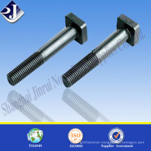 All sizes square head bolt Grade 10.9 square head bolt Black oxide finished square head bolt