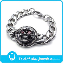 TKB-B0108 2015 China wholesale wrist bands jewelry fashion biker handmade mens bracelets