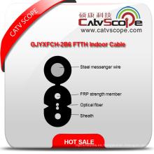 Proveedor de China de alta calidad Gjyxfch-2b6 FTTH interior de fibra óptica Cable