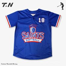 Diseño Personalizado Béisbol Béisbol Jersey Venta al por mayor