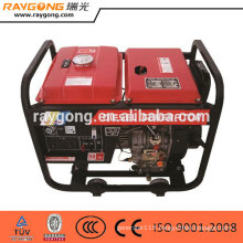5kw portable diesel generator set open type high quality