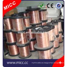 6J12 calefacción resistencia al calor de aplicación CuNi23 cable eléctrico