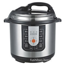 Electric Pressure Cooker, Non-stick Coating Inner Pot, 11 Safety Protection