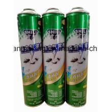 Boîtes d'étain en aérosol pour produits insecticides en aérosol