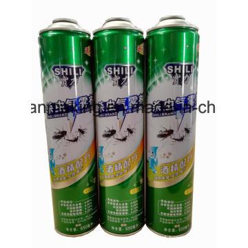 Latas de lata de aerossol para produtos de pulverização de inseticida
