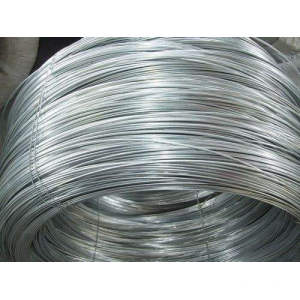 2.0mm Zn-Al-Alloy galfan coating steel wire