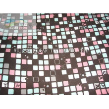 Polyester Printed Satin Fabric for Upholstery customize-made