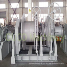 Molinete de cabrestante de ancla de remolque automático hidráulico marino