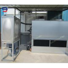 Torre de resfriamento de água integrada com sistema de circulação